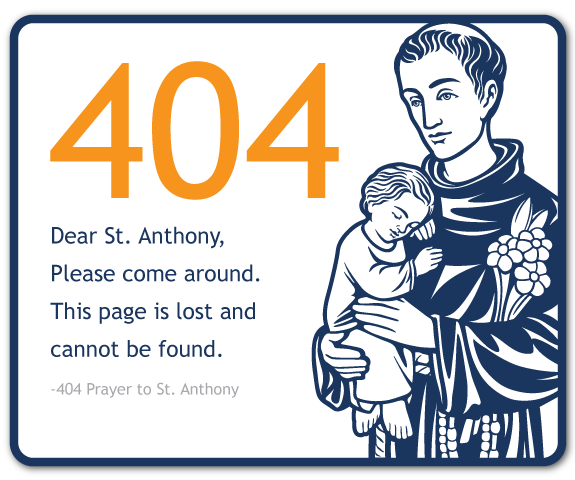Dear st anthony